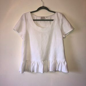 Anthropologie 9H15 STCL Ruffle Top
